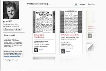 Profile page on Ravalli Republic Archive